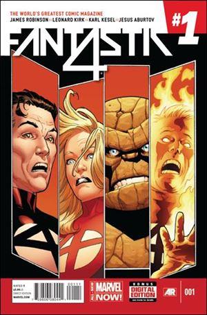 Fantastic Four (2014) 1-A