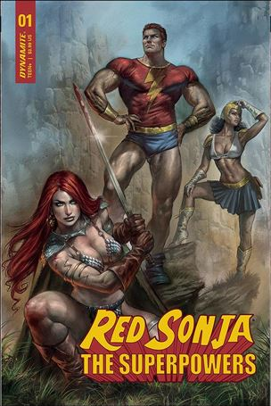 Red Sonja: The Superpowers 1-A
