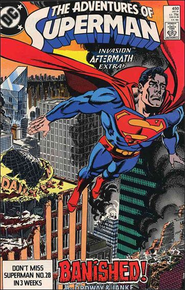 Adventures of Superman (1987) 450-A by DC