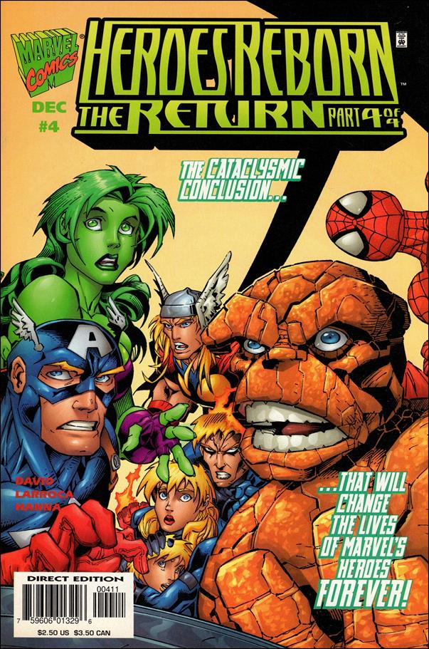 Heroes Reborn: The Return 4-A by Marvel