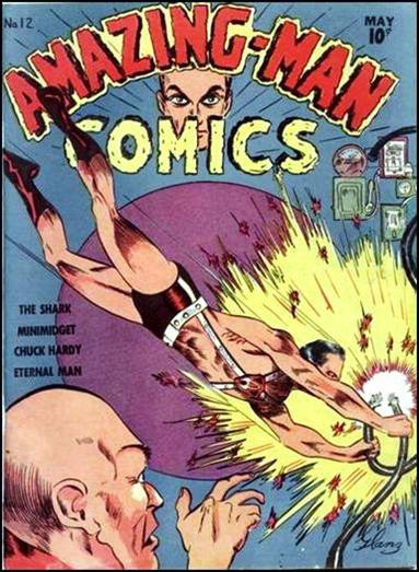 Amazing Man Comics 12-A by Centaur Publications Inc.