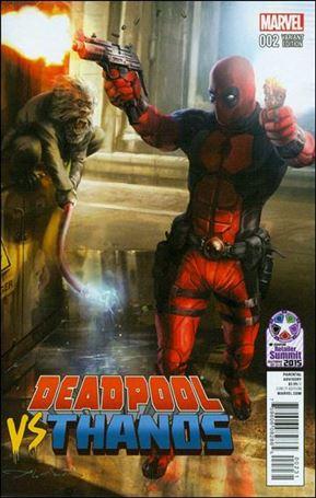 Deadpool vs Thanos 2-D