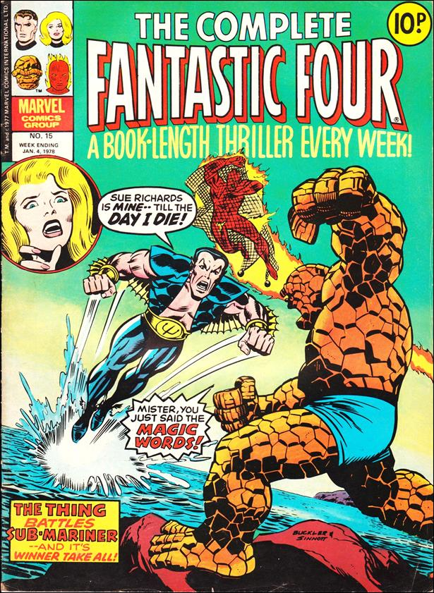Complete Fantastic Four (UK) 15-A by Marvel UK