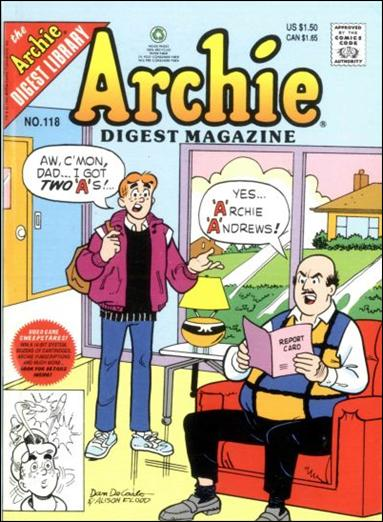 Archie Digest Magazine 118-A by Archie