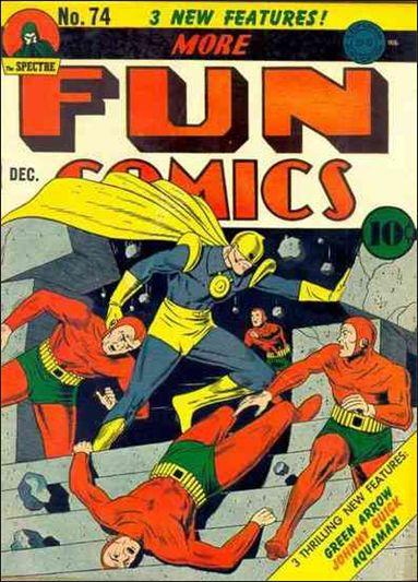 More Fun Comics 74-A by DC