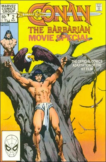 Conan the Barbarian Movie Special 2-A by Marvel