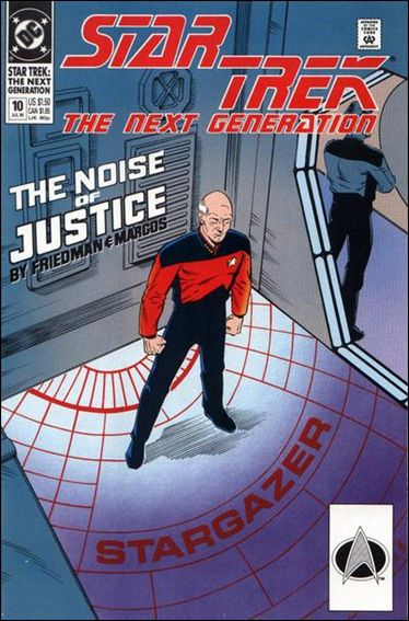 Star Trek: The Next Generation (1989) 10-A by DC