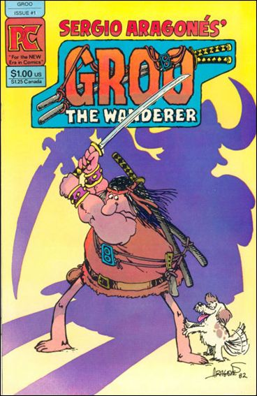 Groo the Wanderer 1-A by Pacific
