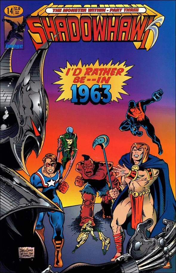 ShadowHawk (1992) 14-A by Image