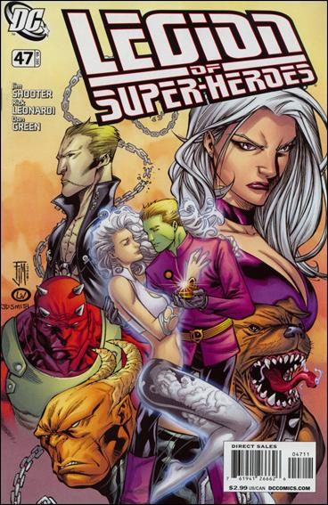 Legion of Super-Heroes (2005) 47-A by DC