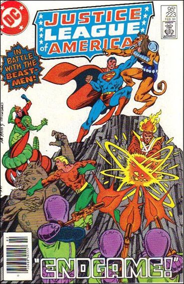 Justice League of America (1960) 223-B by DC