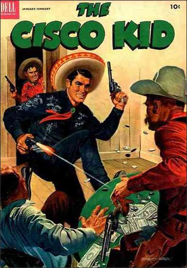 Cisco Kid (1951) 13-A by Dell