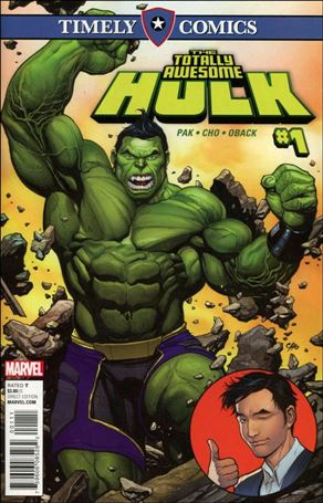 Timely Comics: Totally Awesome Hulk 1-A