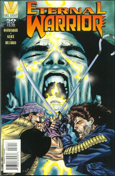 Eternal Warrior (1992) 50-A by Valiant