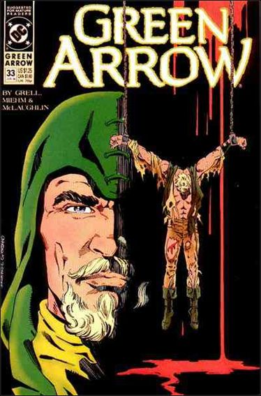 Green Arrow (1988) 33-A by DC