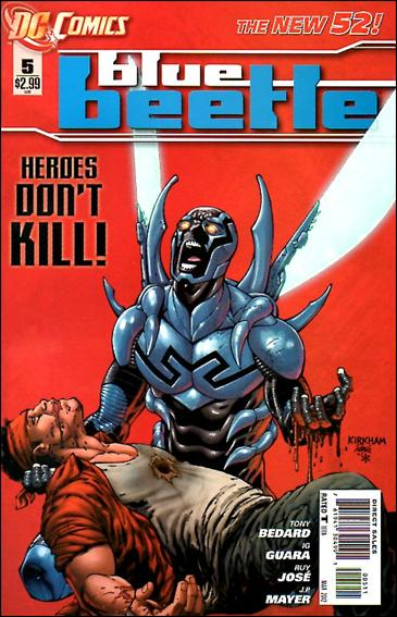 Blue Beetle (2011) 5-A by DC