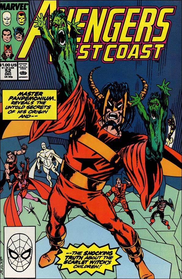 Avengers West Coast 52-A by Marvel