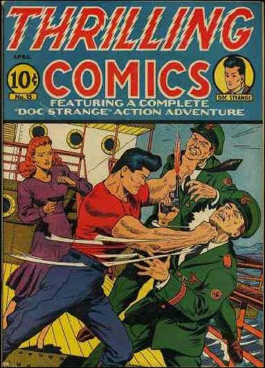 Thrilling Comics (1940) 15-A by Standard