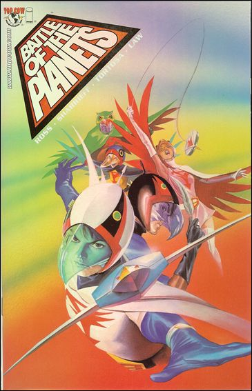Battle of the Planets (2002) 1-E by Top Cow