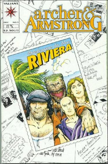 Archer & Armstrong (1992) 5-A by Valiant