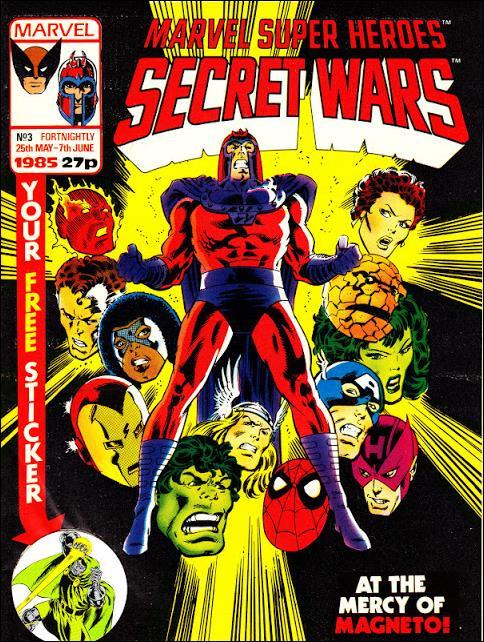 Marvel Super Heroes Secret Wars (UK) 3-A by Marvel UK