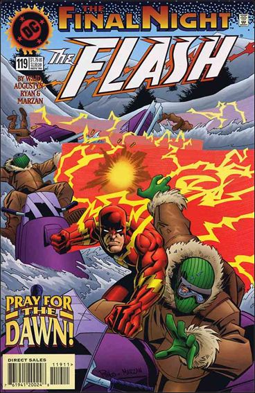 Flash (1987) 119-A by DC