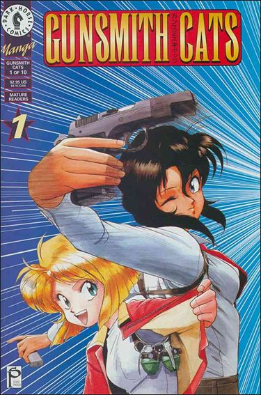 Gunsmith Cats 1-A by Dark Horse