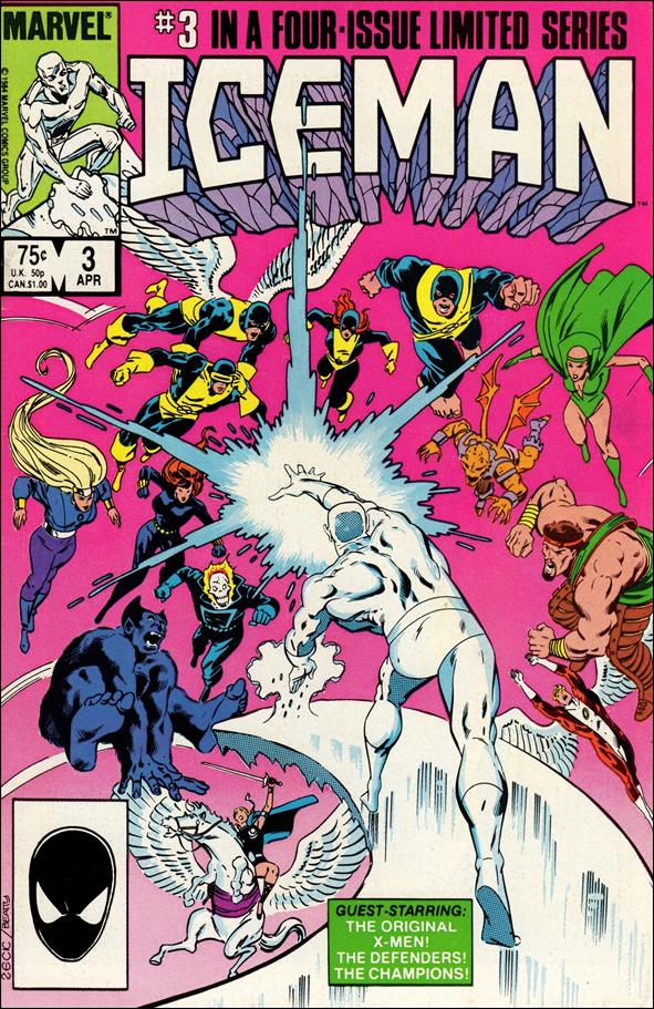 Iceman (1984) 3-A by Marvel