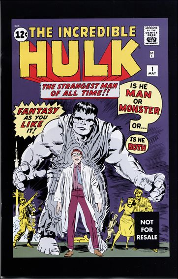 Incredible Hulk (1962) 1-H by Marvel