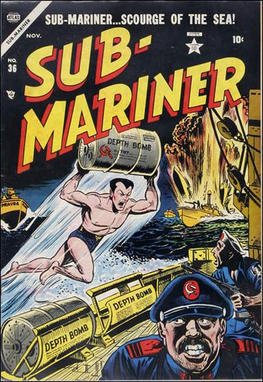 Sub-Mariner (1941) 36-A by Atlas
