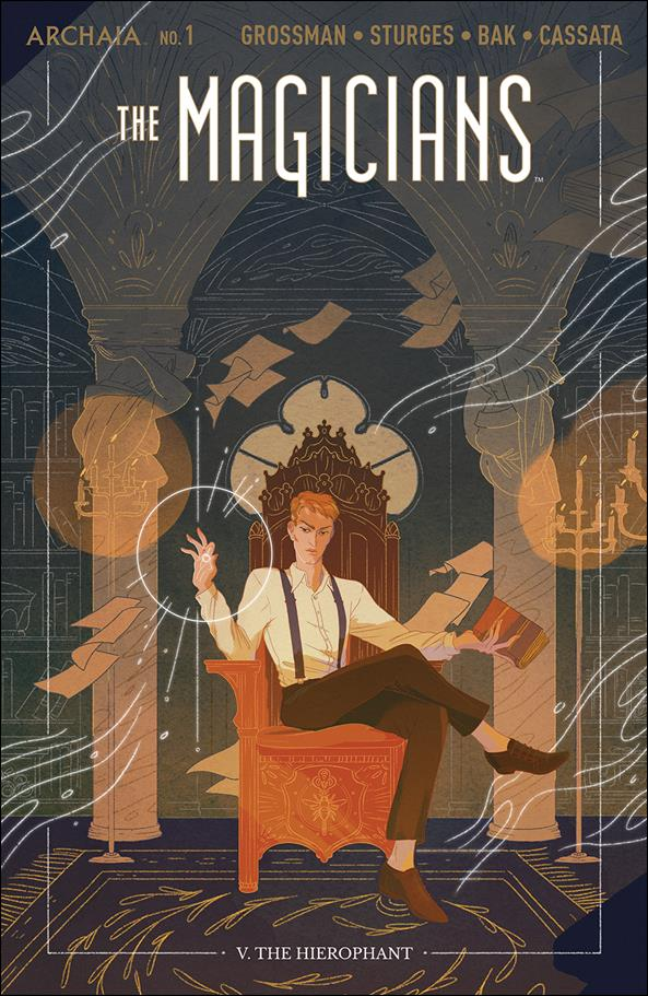 Magicians 1-B by Archaia