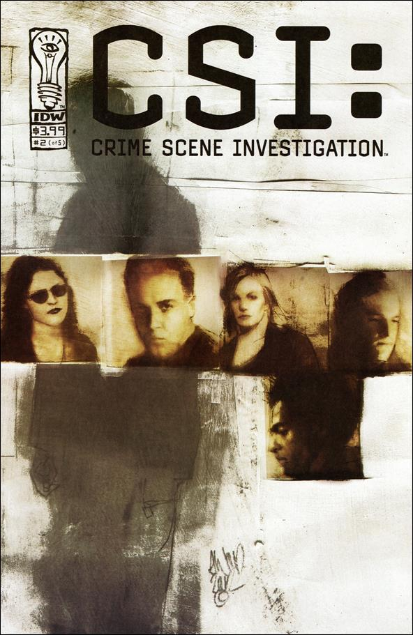 CSI: Crime Scene Investigation 2-A by IDW