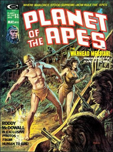Planet of the Apes (1974) 8-A by Marvel