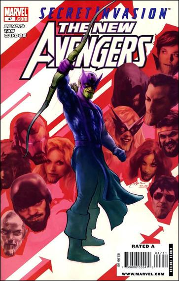 New Avengers (2005) 47-A by Marvel