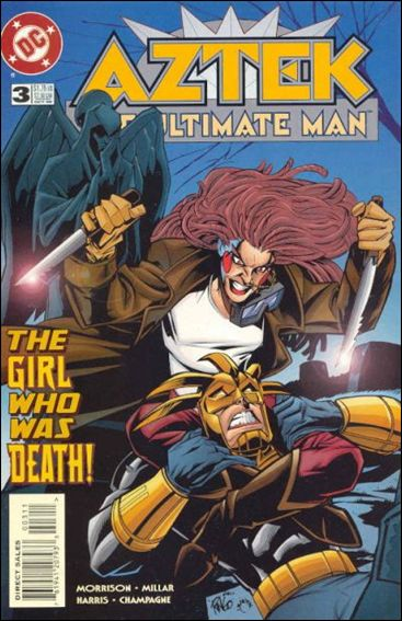 Aztek: The Ultimate Man 3-A by DC