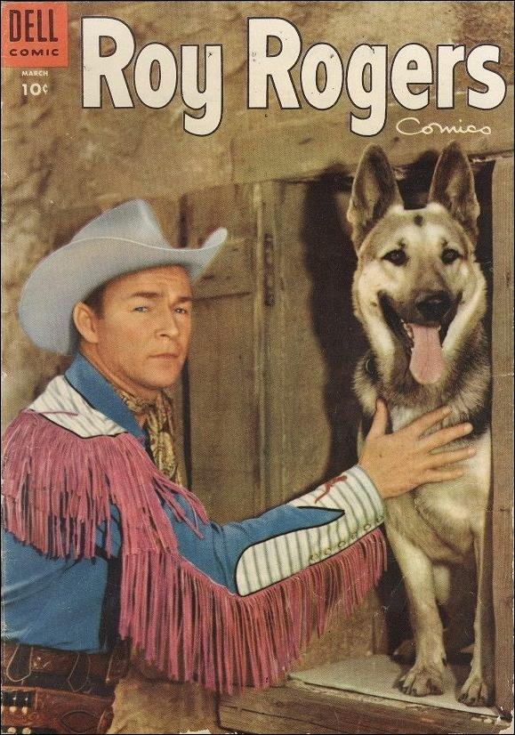 Roy Rogers Comics 87-A by Dell