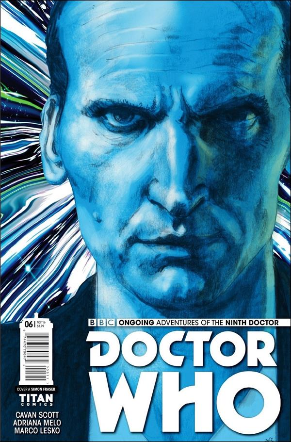 Doctor Who: The Ninth Doctor (2016) 6-A by Titan