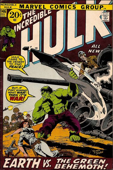 Incredible Hulk (1968) 146-A by Marvel