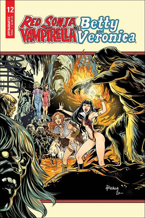 Red Sonja and Vampirella Meet Betty and Veronica 12-C by Dynamite Entertainment