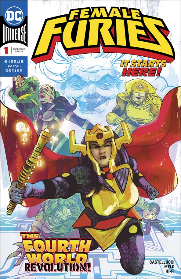 Female Furies 1-A by DC