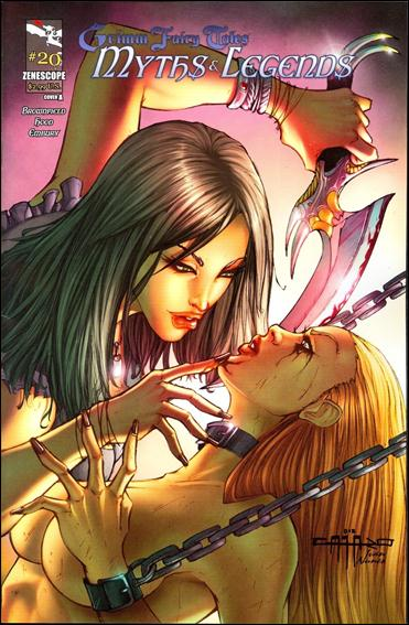 Grimm Fairy Tales Myths & Legends 20-A by Zenescope Entertainment