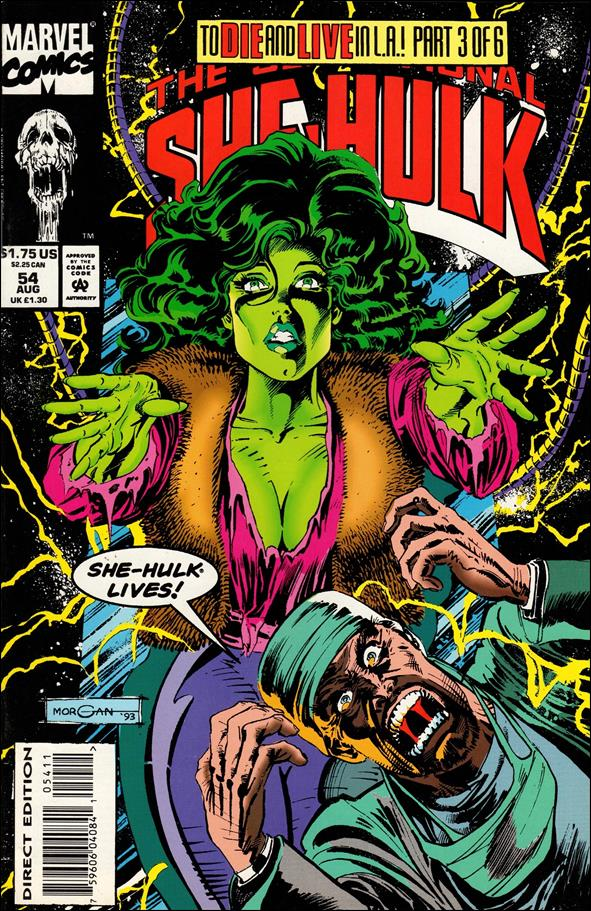 Sensational She-Hulk 54-A by Marvel