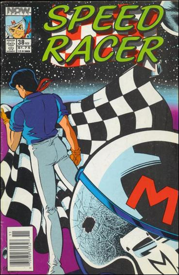 Speed Racer (1987) 38-A by Now Comics