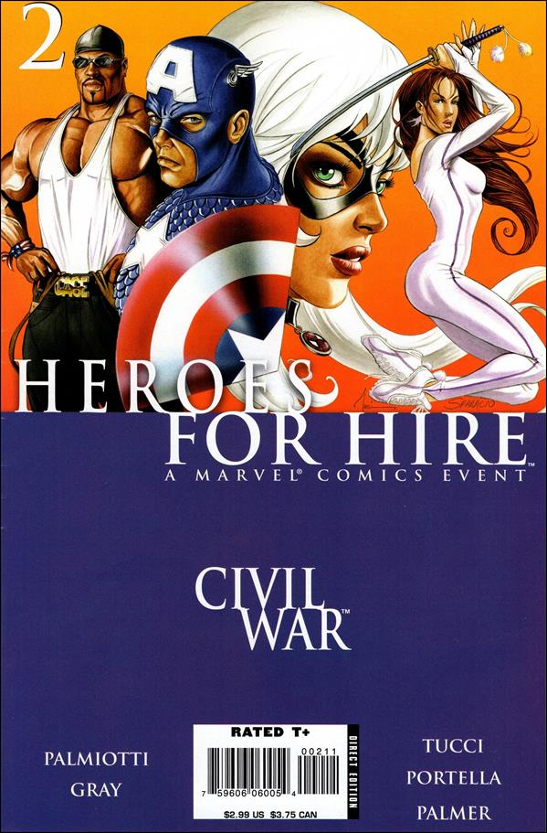 Heroes for Hire (2006) 2-A by Marvel