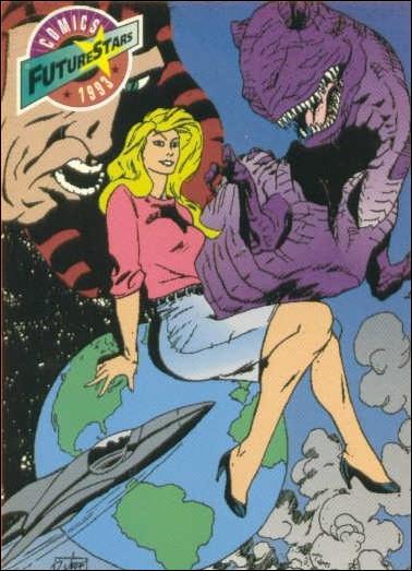 Comics FutureStars (Base Set) 35-A by Majestic Entertainment