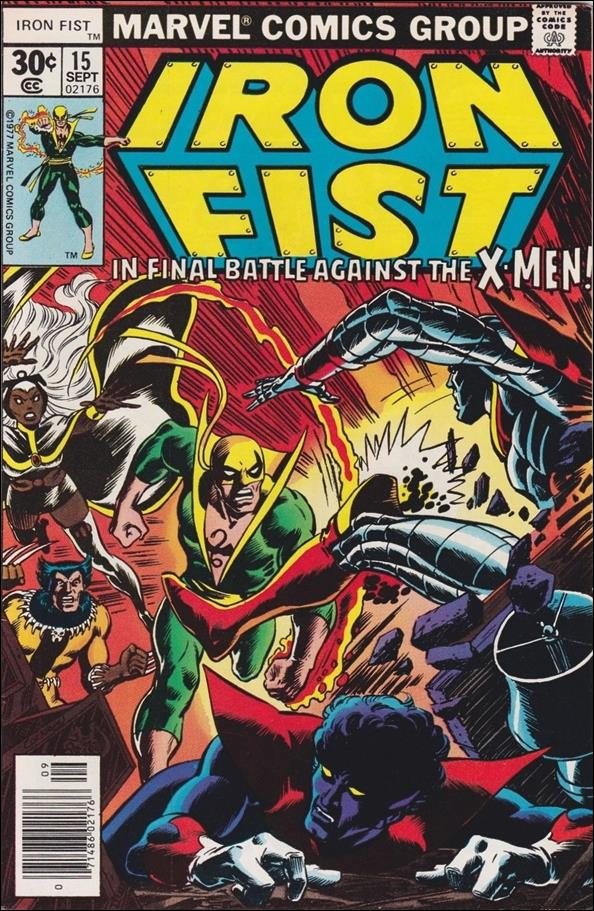 Iron Fist (1975) 15-A by Marvel