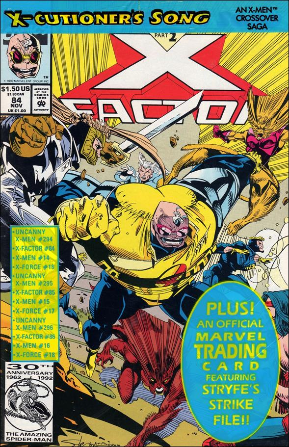 X-Factor (1986) 84-A by Marvel
