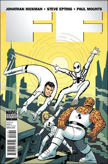 FF (2011) 1-B by Marvel