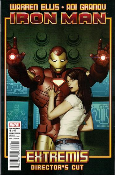 Invincible Iron Man (2005) 5-B by Marvel