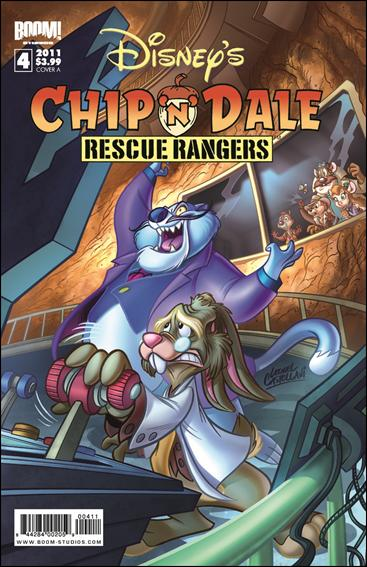 Chip 'n' Dale Rescue Rangers (2010) 4-A by Kaboom!
